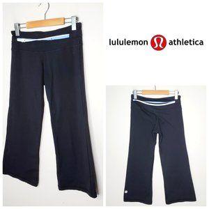 LULULEMON Black Groove Cropped Pants